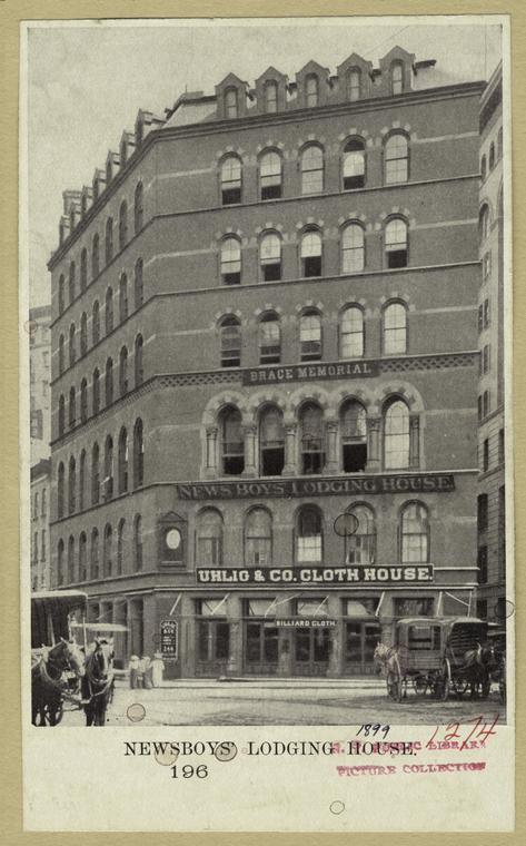 Newsboys Lodging House