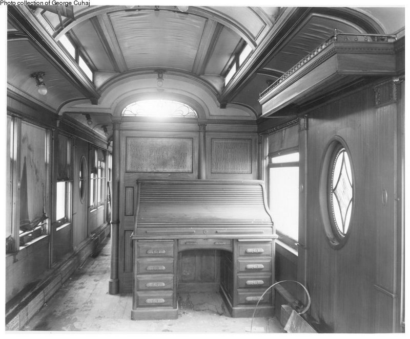 August Belmont's private subway car, The Mineola