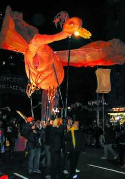 Phoenix at 2001 Halloween Parade