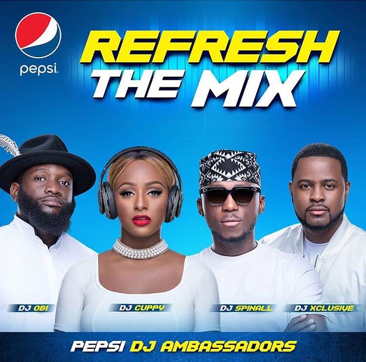 pepsi DJ ambassador - faozyaminu.com