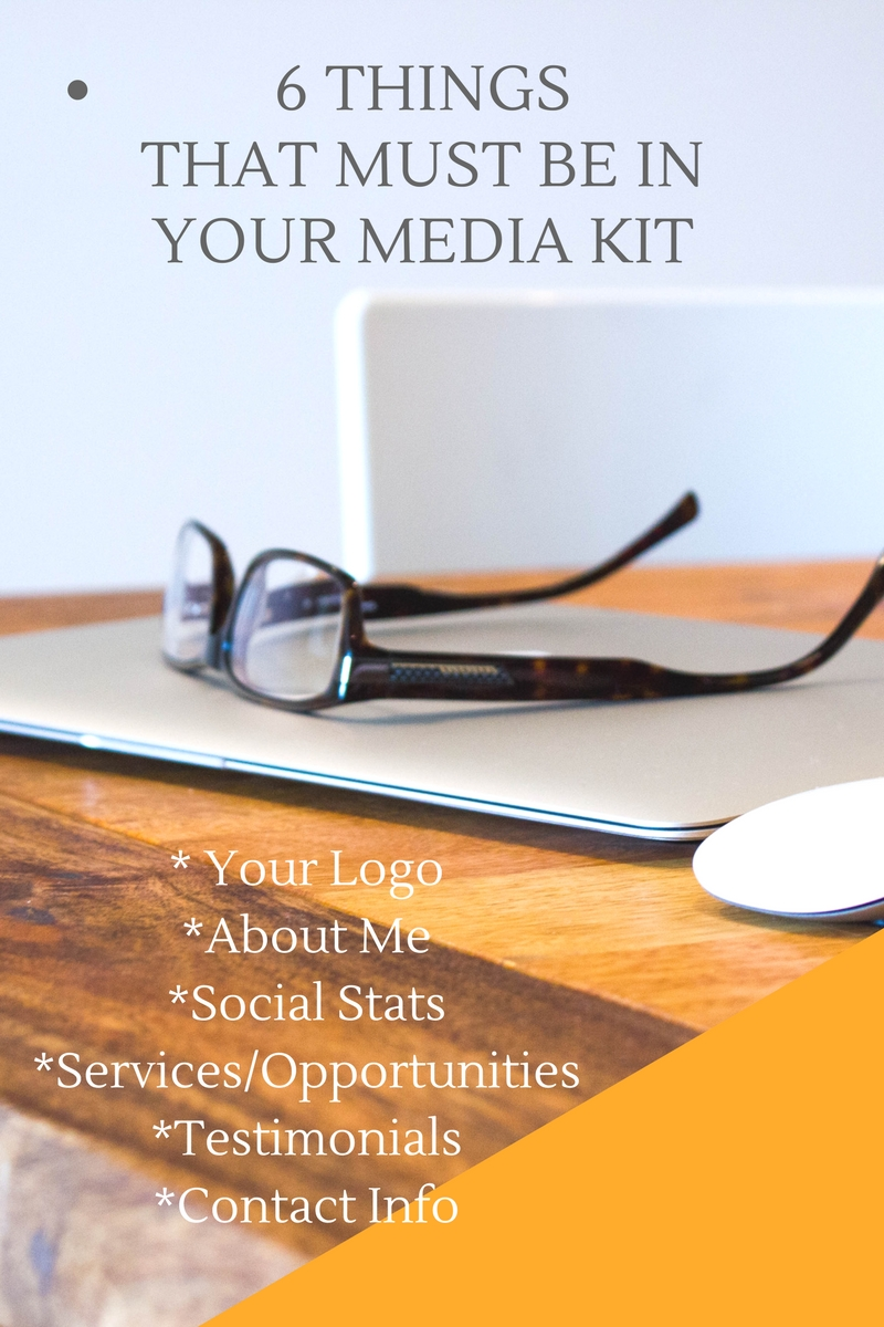 Media Kit Must Haves