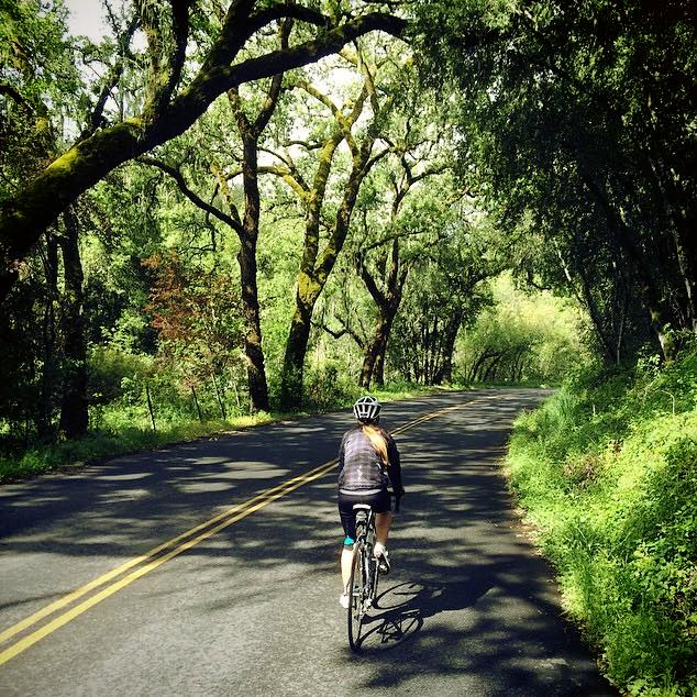 An avid cyclist, Jaime says that being in the saddle often gives her surroundings new perspective... and she loves it <3