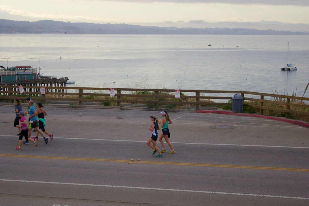 "Capitola Half Marathon 2015 ""It took me a long time to fall in love with running. We had some ups & downs and a couple breakups, but once I found my footing (so to speak), I depend on those miles to keep me grounded."""
