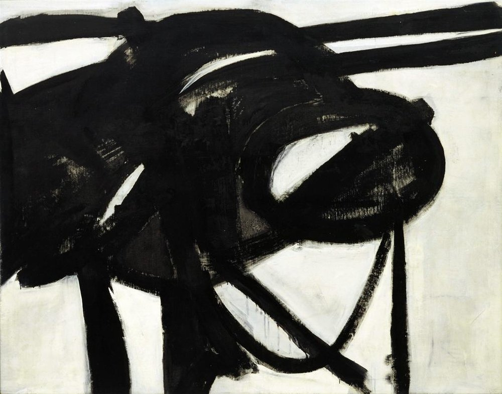 franz kline chief 1950 painting
