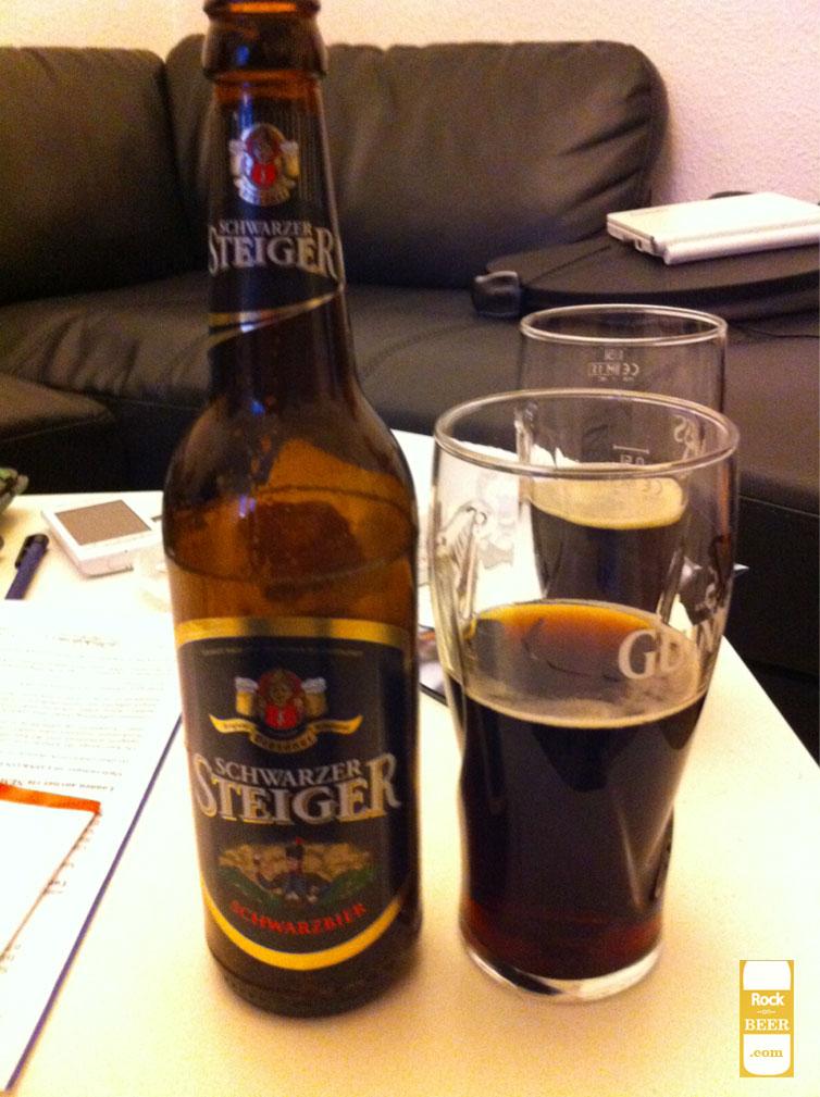 Schwarzer Steiger