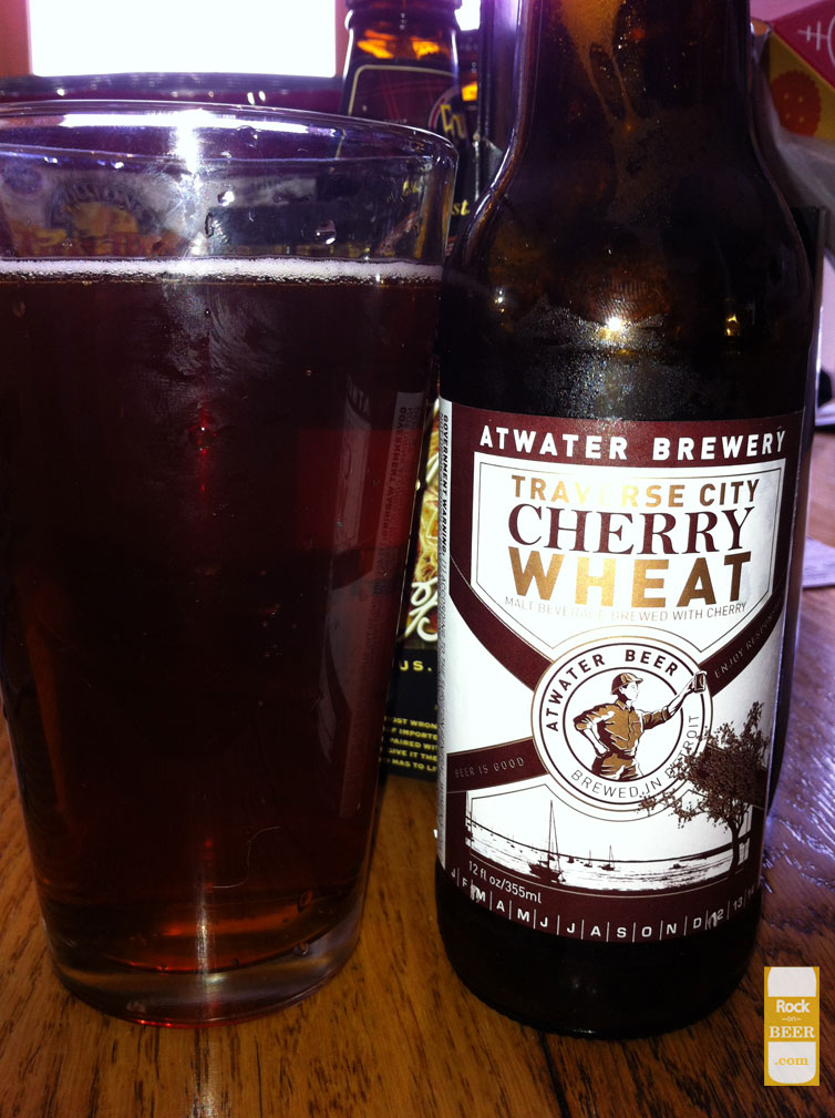 Atwater Brewery Traverse City Cherry Wheat