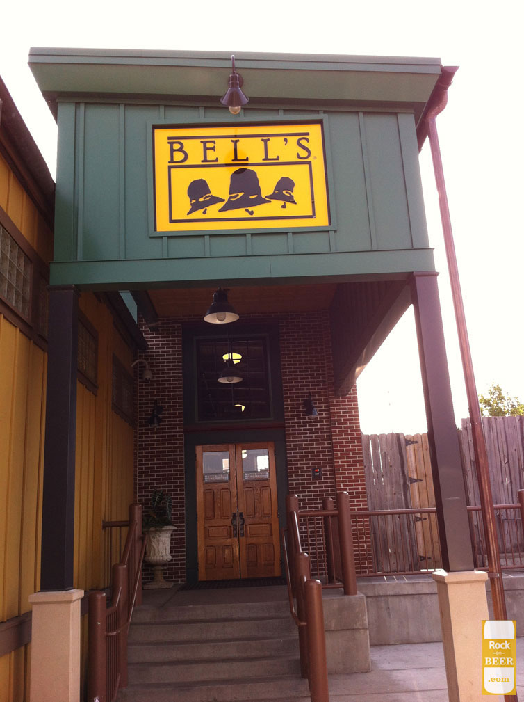 Bell's Brewery Entrance Kalamazoo, Michigan