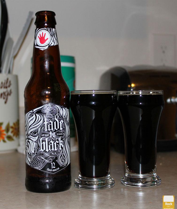 Left Hand Brewer Fade to Black: Volume 3 Pepper Porter