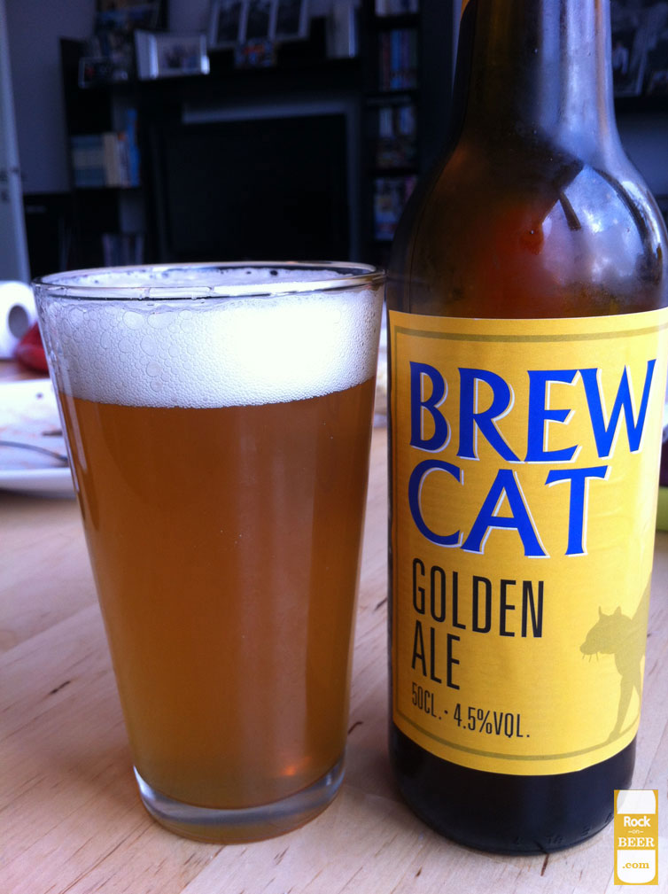 Brew Cat Golden Ale