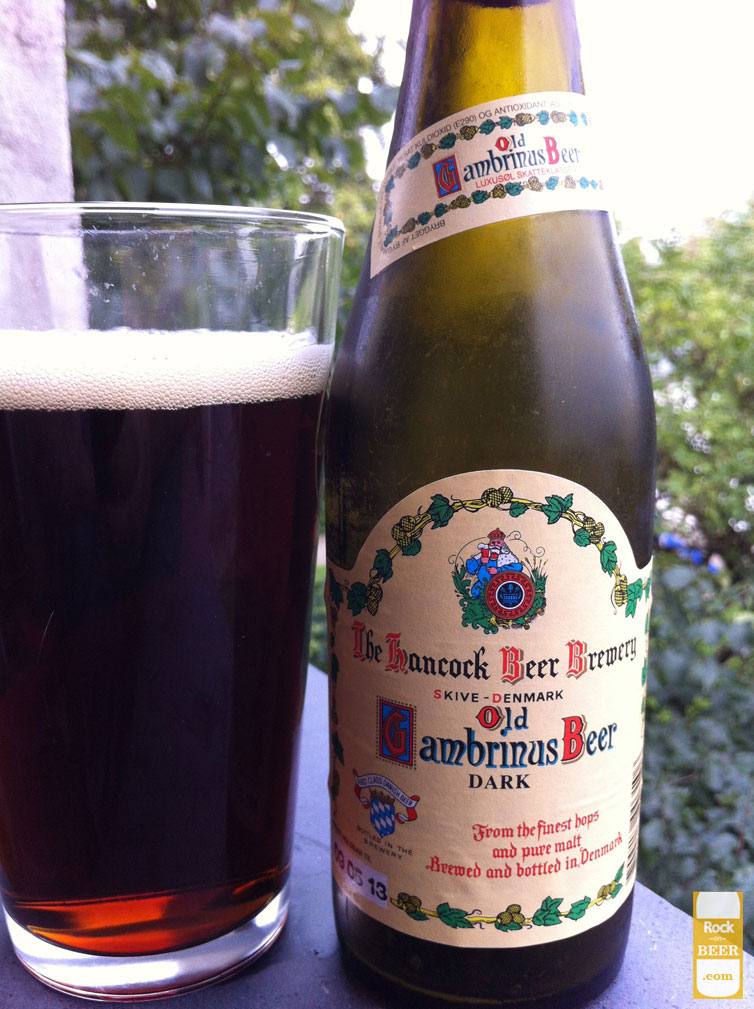 Hancock Old Gambrinus Beer