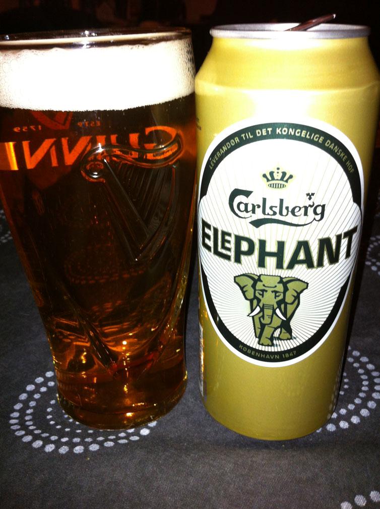 Carlsber Brewery elephant