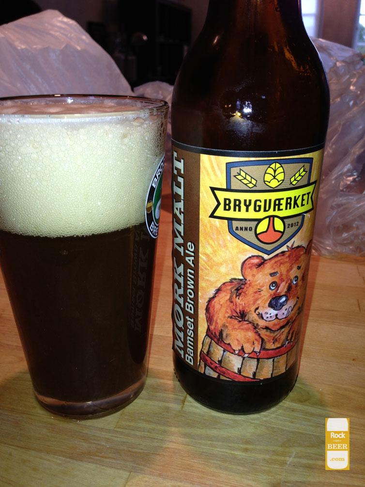 Brygværket Mørk Malt Bamset Brown Ale