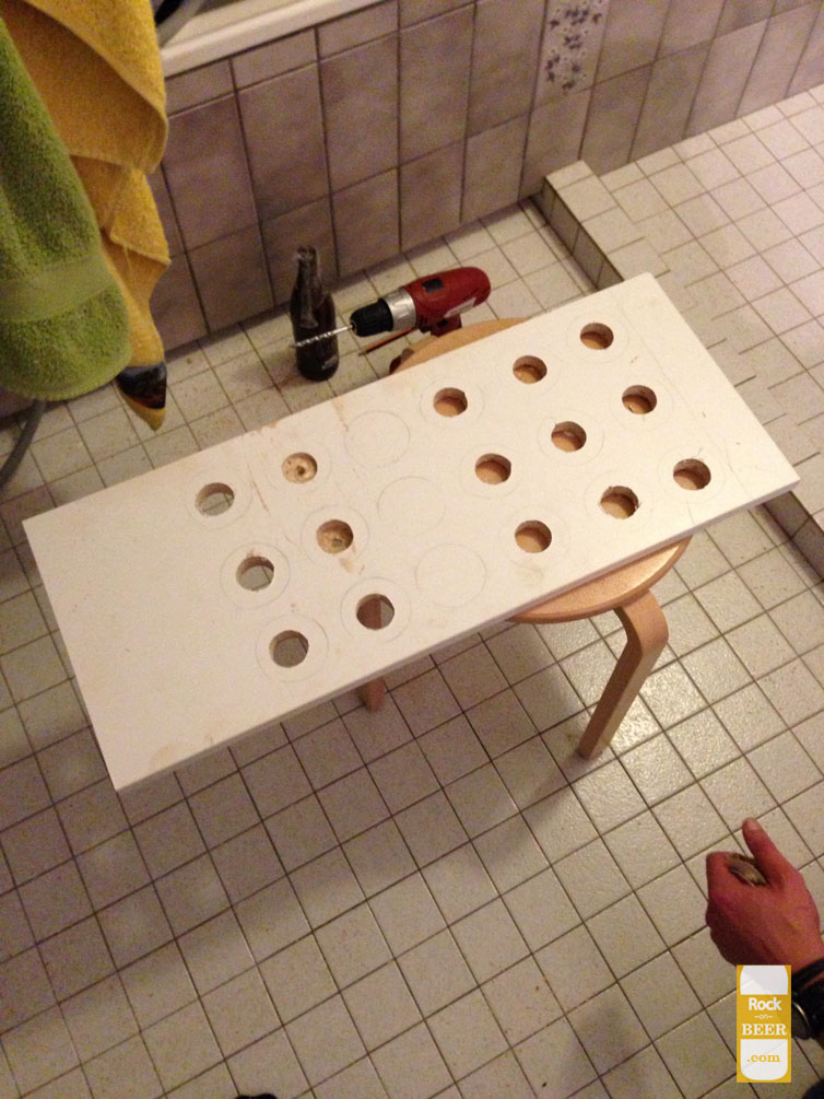 Building a bottle dryer