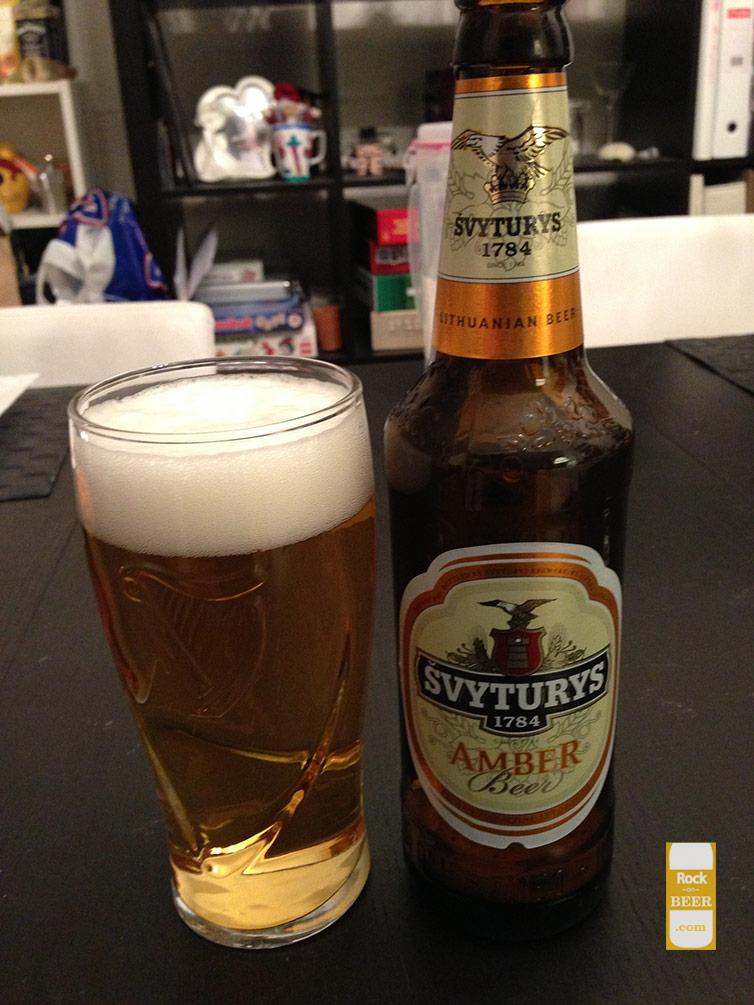 Švyturys Amber Beer