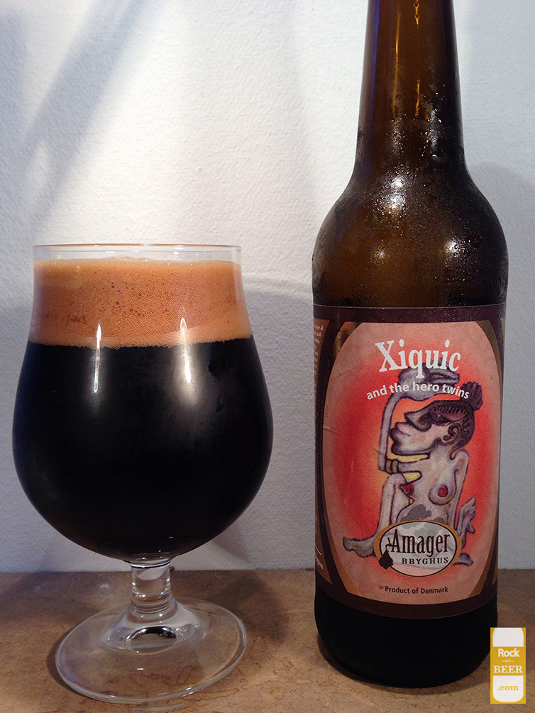 Amager Bryghus and Cigar City Brewing Xiquic and the hero twins