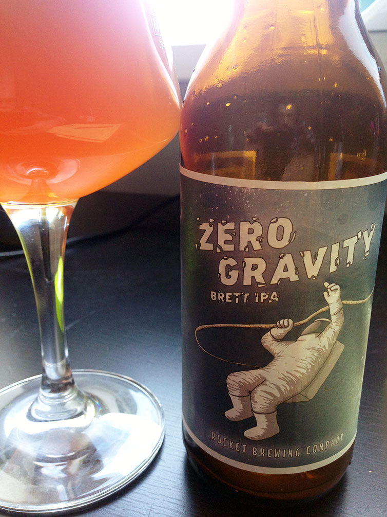 Rocket Brewing Co. Zero Gravity Brett IPA
