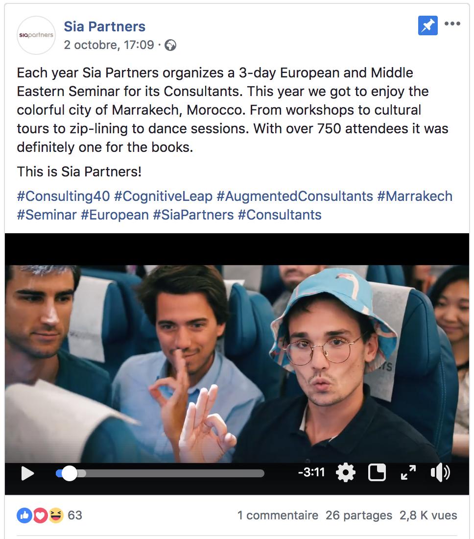 Sia Partners Facebook