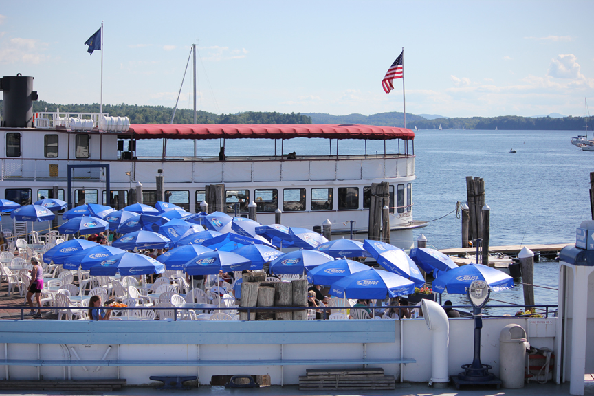 Restaurant on Lake Champlain