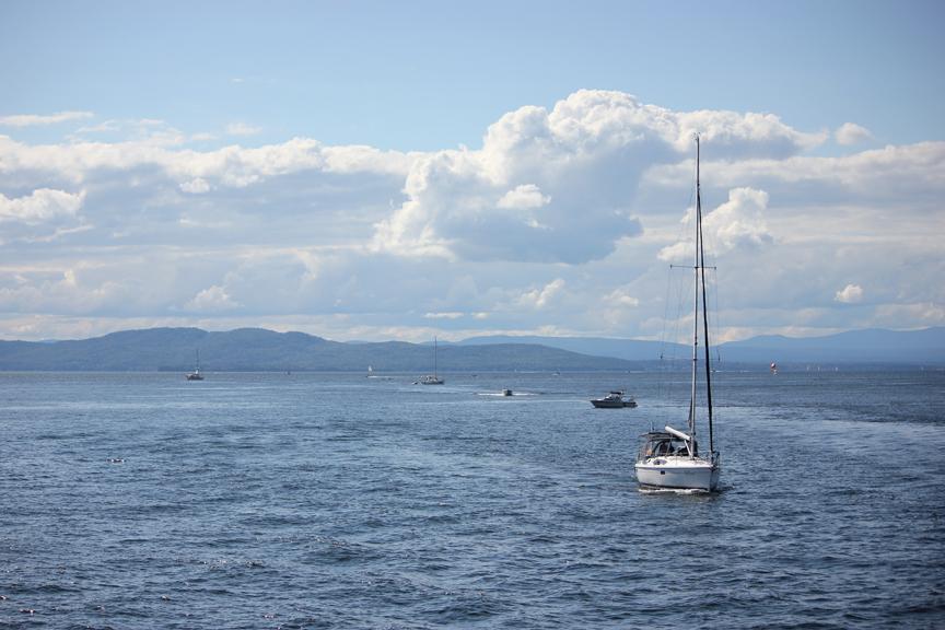 Sailing Champlain