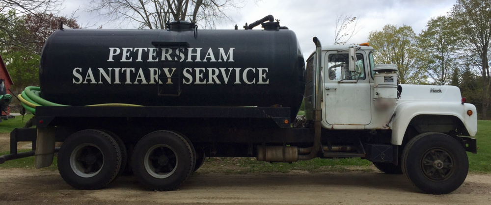 Petersham Sanitary Service Septic Truck