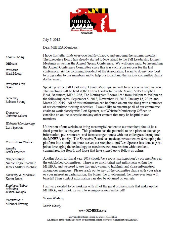 MHHRA President Letter FY '19.JPG