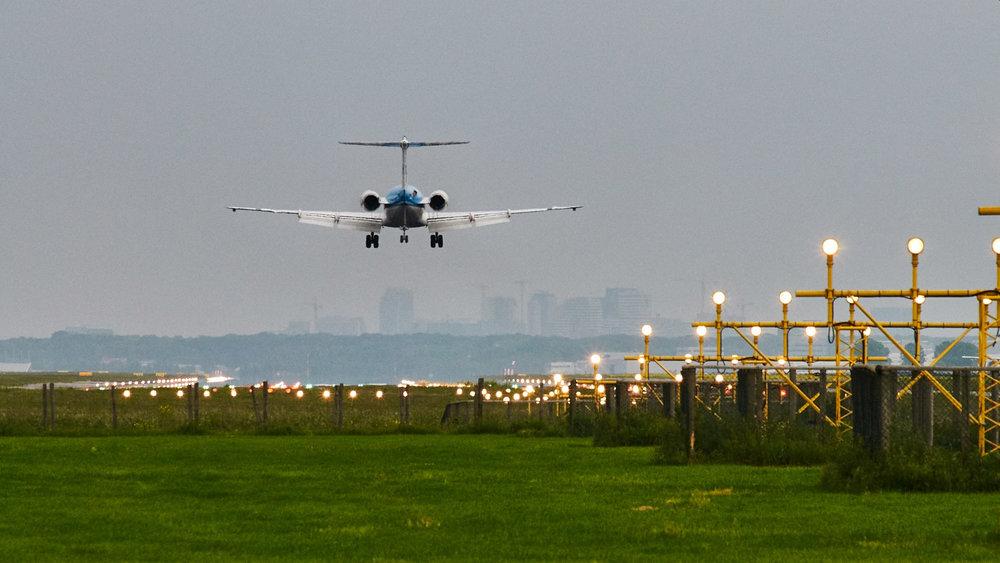 Landing...