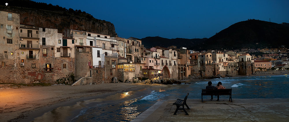 Last light on Cefalù...