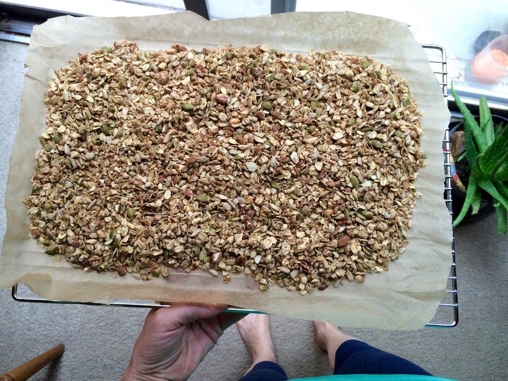 Granola Cooling