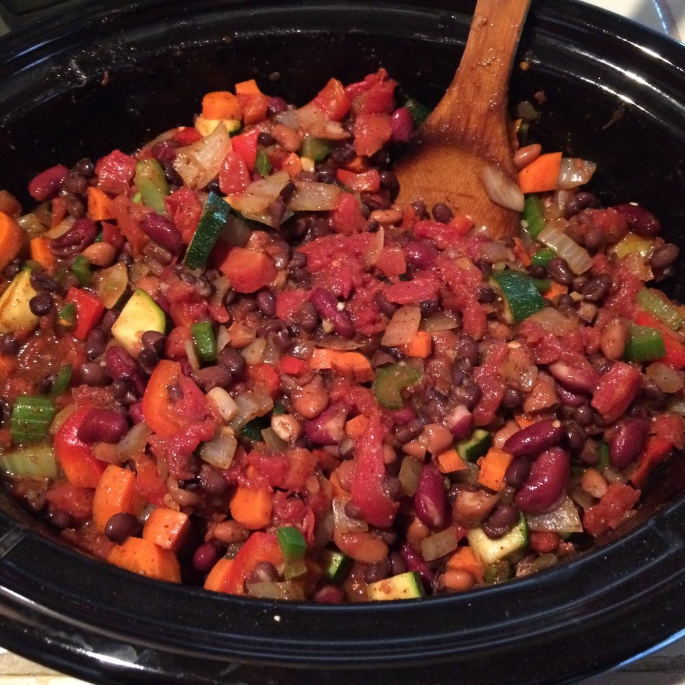Veggie Chili Pot