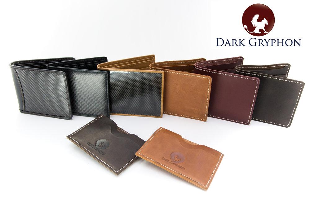 Dark Gryphon Carbon Fiber Wallets