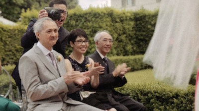 "wedding-videography-tips: a still from ""An Italian Polaroid"""