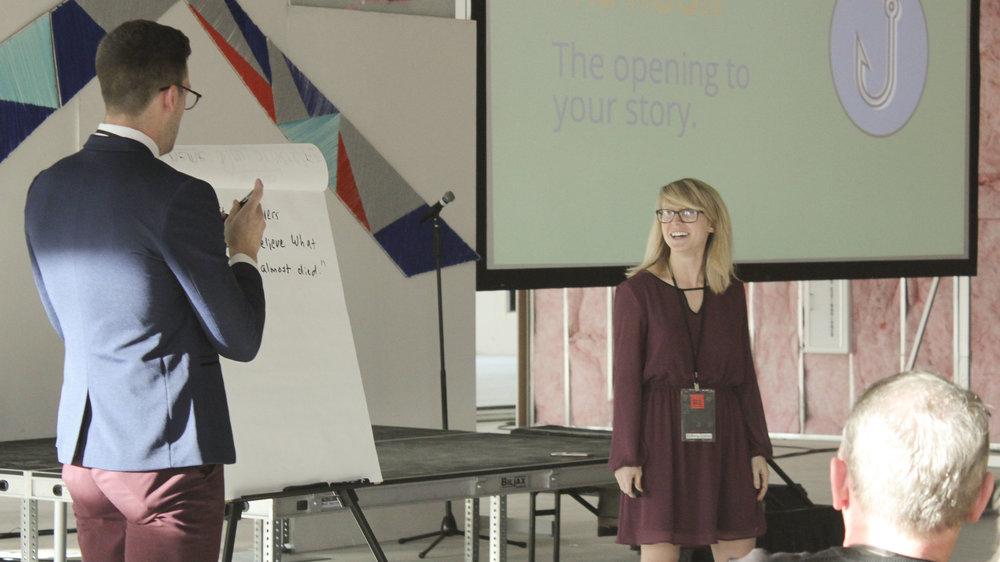 Storytelling makes us happy too, Kat:)