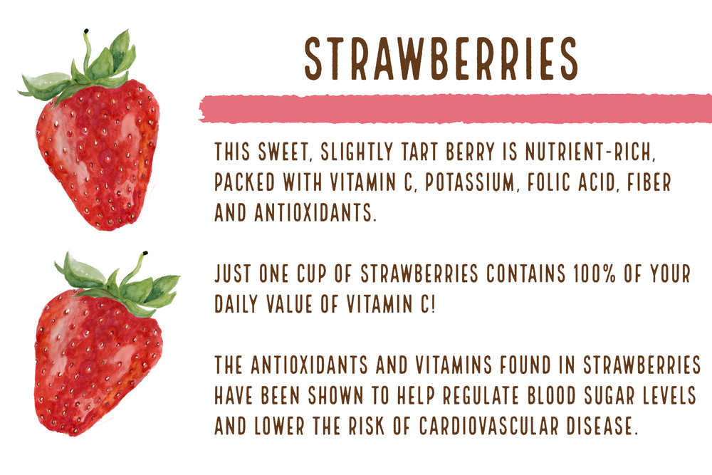 Fun Fact: 2 1/2 strawberries in every bottle of our Strawberry Lemonade!