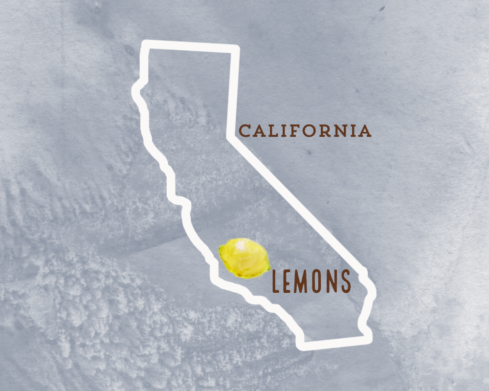 Our lemons come from Sespe Creek Organics, a family farming business located in Ventura County, California. The same farm grows our oranges for our orange juice!