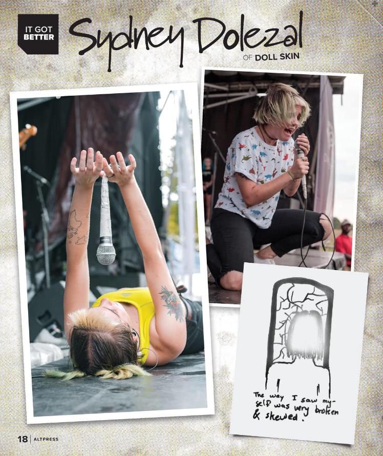 Doll Skin Alternative Press Spread September 2018