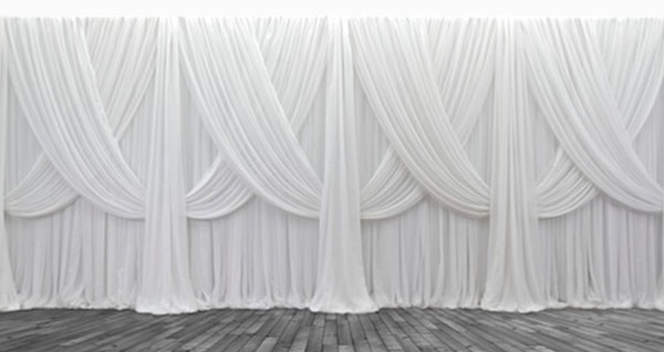 Pipe and Drapes - Currently providing IVORY drapery only!