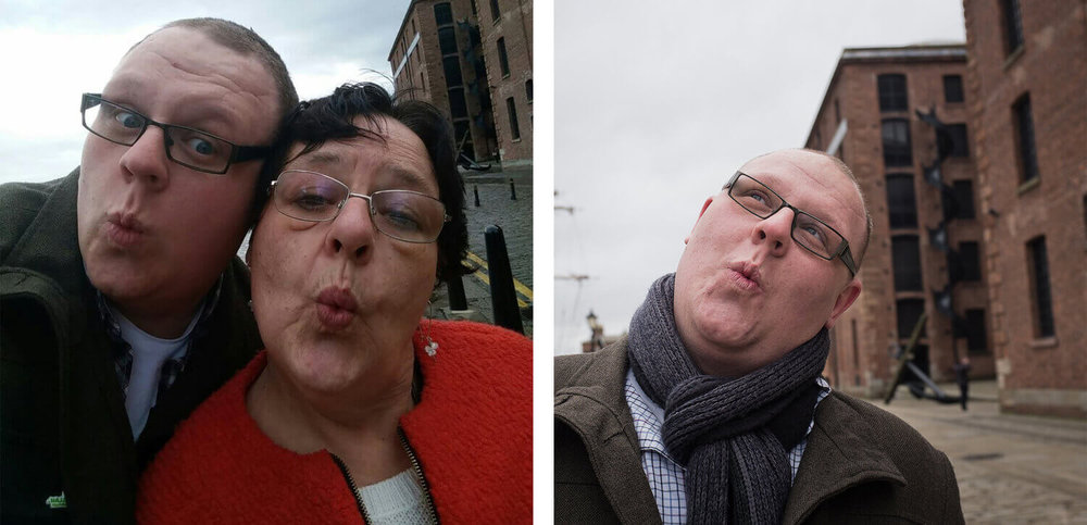 John and Mum - Liverpool, Merseyside