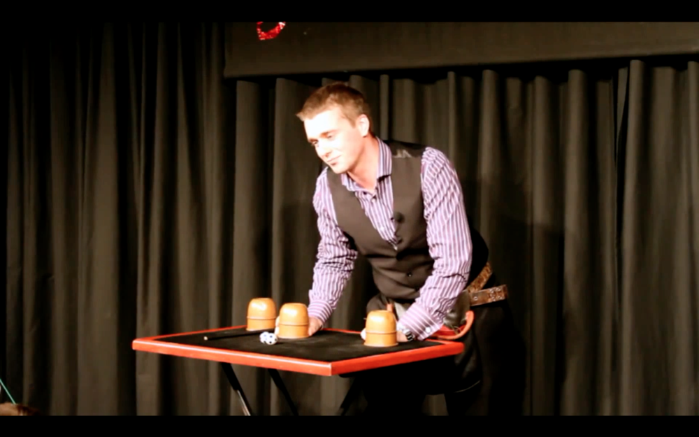professional stage magician Nick Stein