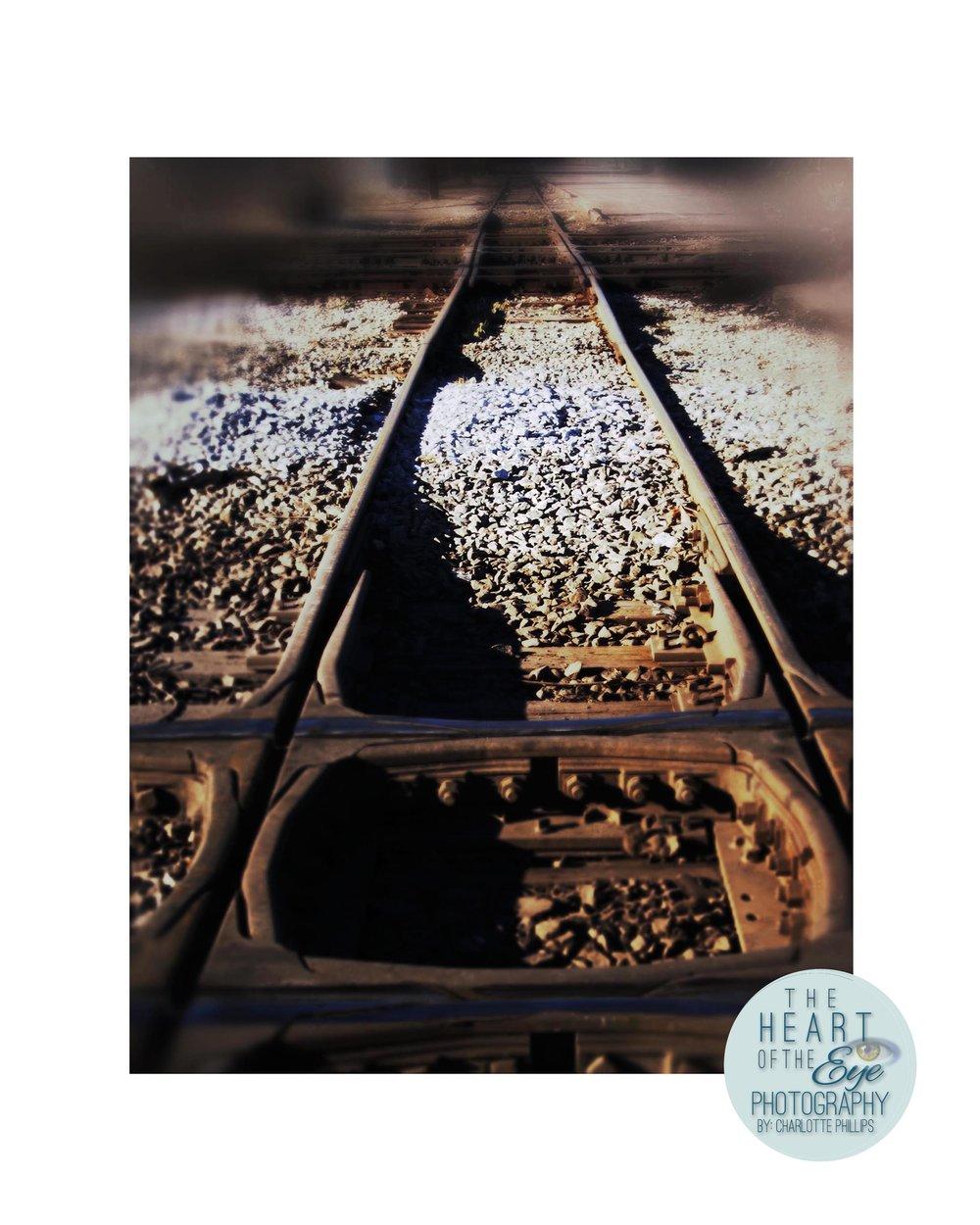 Old Vintage Railroad Tracks, Sloss Furnace Railroad Tracks