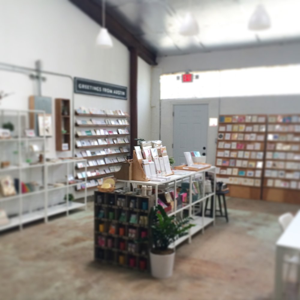 I spent a lot of time here at the Paper + Craft Pantry working on my designs and helping my good friend Pei out with her brick and mortar.