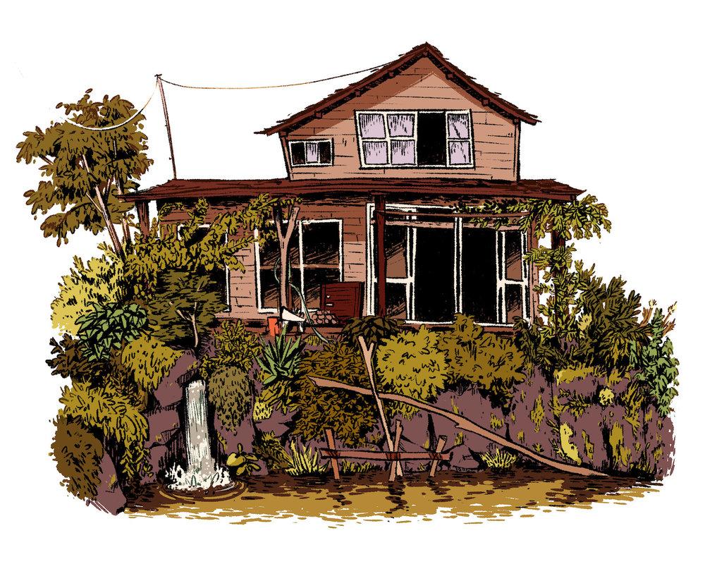 Streamside Home    digital