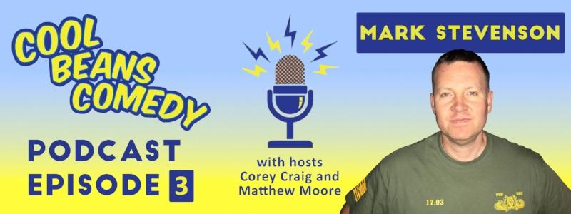 Episode 3: Comedian Mark Stevenson