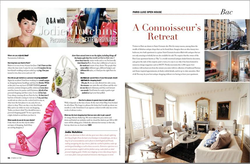 Paris Luxe article