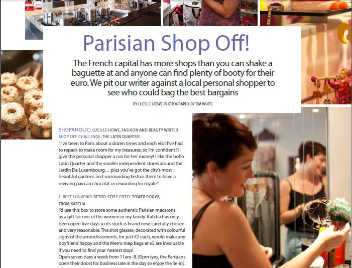 Yeahbaby Parisian Shop-Off!