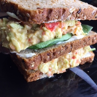 famous southern chickpea salad vegan soul food recipe