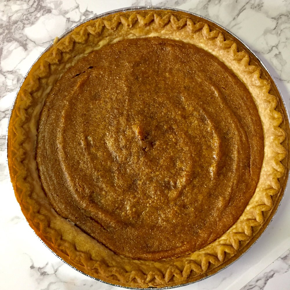 Vegan Sweet Potato Pie Using Aquafaba