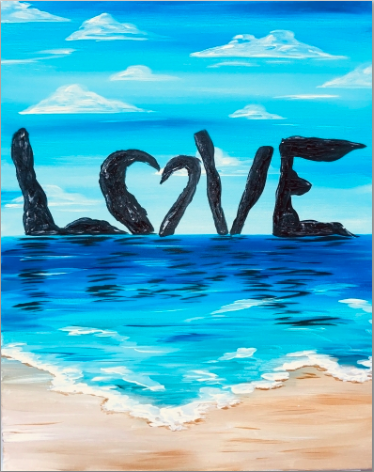 Love Rocks on the Beach  - THERE IS NO EXPERIENCE REQUIRED!