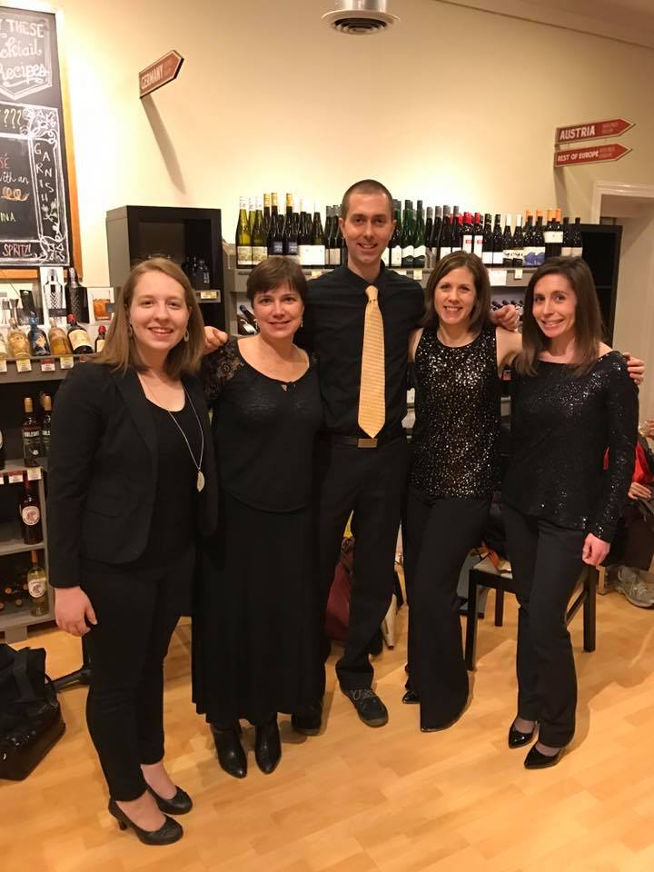 Triangle Chamber Music Collective Woodwind Quintet at the Raleigh Wine Shop