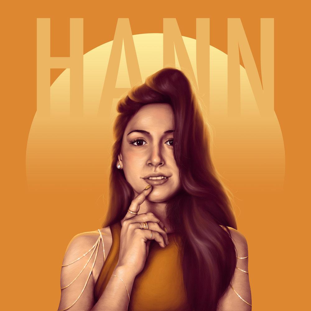 <b>HANN</b><br>EP Cover<br>