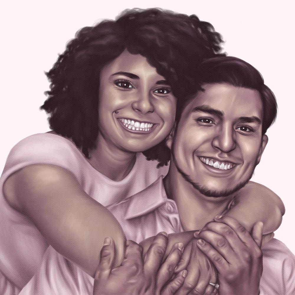 <b>Adriane and Jack</b><br>Wedding Stationery<br>